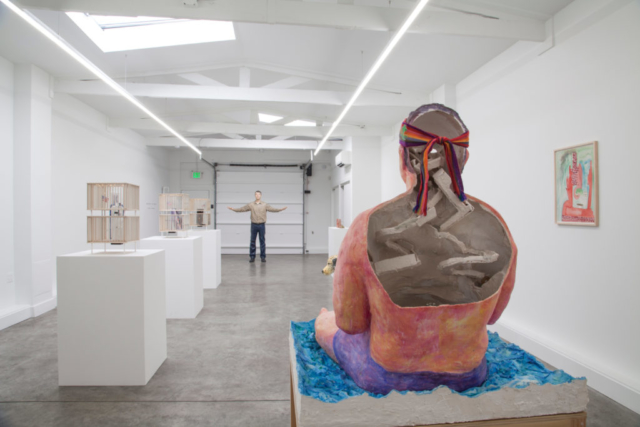 installation view at slash