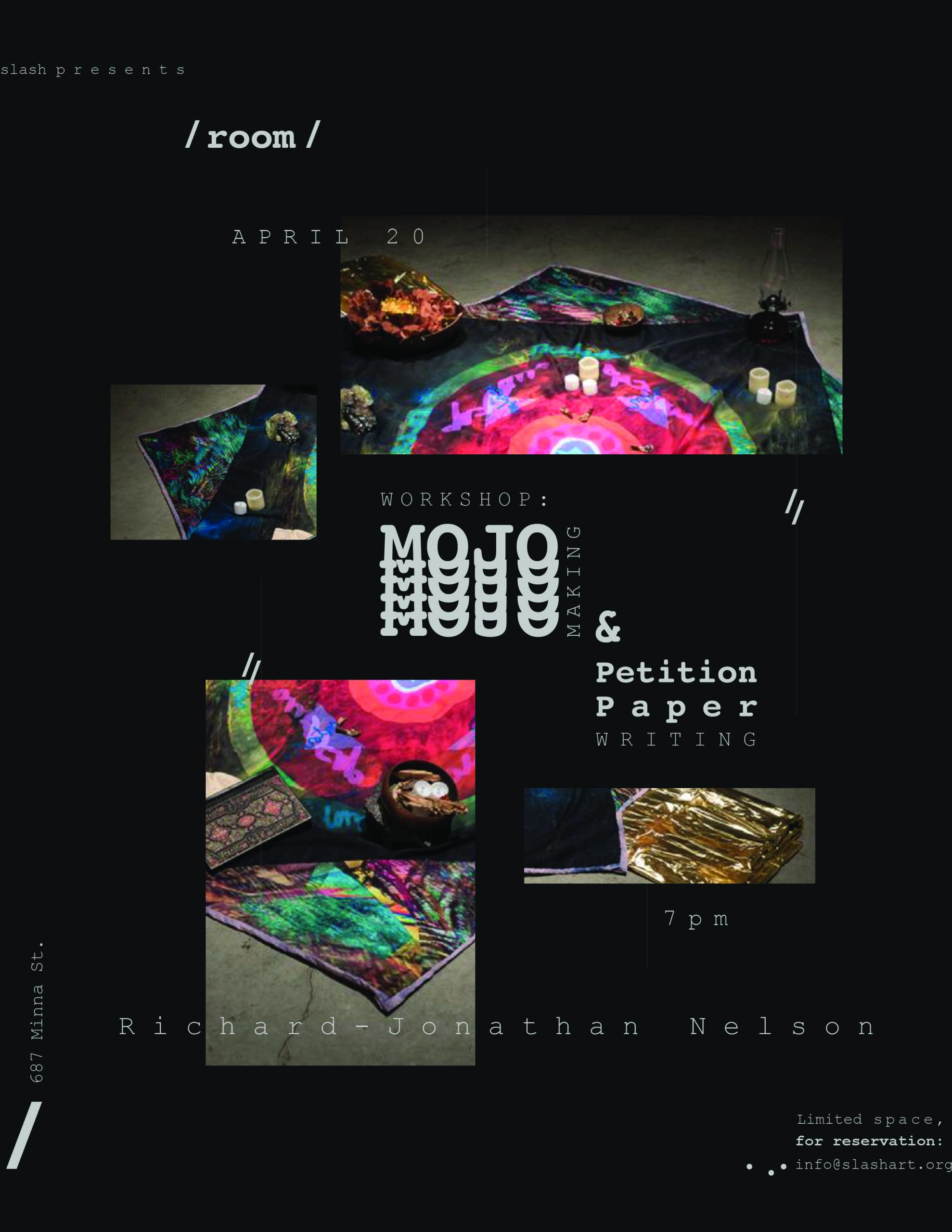 Richard-Jonathan Nelson workshop poster
