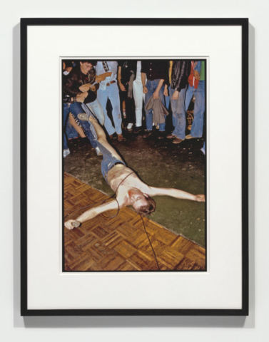 Bruce Conner BIAFRA, AUGUST 13, 1978, 2011 | pigmented inkjet print 22 x 17 inches (Edition of 5, 1/2 AP)
